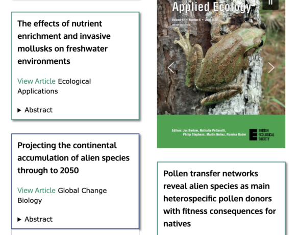 Abstracts of Interest: October 2020